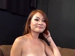 Ginger-haired Asian Babe Has Superb Fuct Audition 420