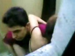 indonesian Maid Pulverize With Pakistani Guy in Hong Kong Public Rest Room