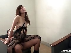 Farmer girl strokes and sucks her uncle