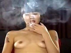 Exotic homemade Diminutive Cupcakes, Smoking porn scene