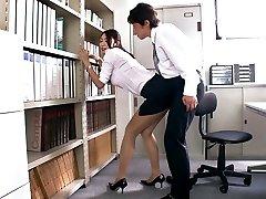 Geilen japanischen Luder Reiko Kobayakawa in Exotischen JAV zensiert, Fetisch, Große Titten Szene