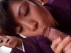 Fabulous Asian whore in Incredible Butt Licking, Blowjob JAV movie