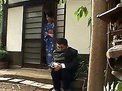 Japanische Frau liebt die glory holes-durch PACKMANS