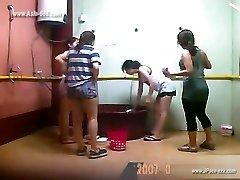 ###ping asian damsels bathing