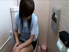 Ofis Bayanlar Tuvaleti Mastürbasyon Biniyorlar