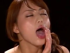Epic Japanese model Akiho Yoshizawa in Gorgeous POV, Facial JAV scene