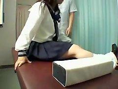 Perfect Jap slut enjoys a kinky massage in hidden cam movie