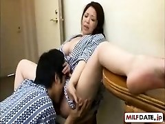 Youthfull son-in-law in law loves NOT his the mother