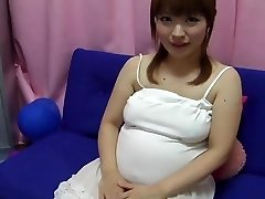 Yui aihara - cute japanese preggo nipple have fun