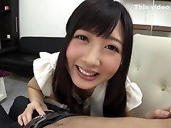 Finest Japanese whore Hibiki Otsuki in Incredible handjobs, rimming JAV clamp