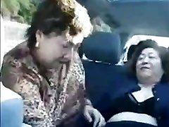 Grannie asians in bus