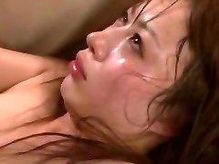 מטורף בחורה יפנית מאו Morikawa ב חרמנית נבגד, אורגיה JAV וידאו