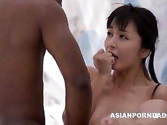 Asian boink by two black boners - ASIANPORNDADD