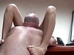 AsianSexPorno.Com - Chinese office lady smashed on table