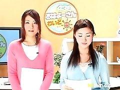 גמירה תוכנית טלוויזיה על-ידי טילים אסיה סרטי פורנו