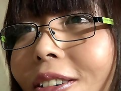 Asian school girl takes old teacher cumshot in her facehole