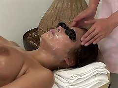 JAV full body bizarre cum facial rubdown clinic Subtitled