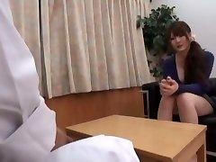 Insatiable Japanese woman Momoka Nishina in Fabulous Medical JAV movie