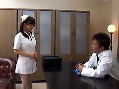 Arzt Hat Hina Hanamis Enge Krankenschwester Möse Zu Ficken