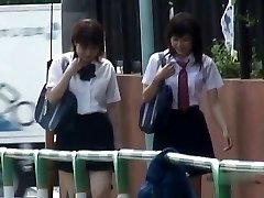 Japanischen Höschen-Unten Sharking - Studenten Pt 2 - CM
