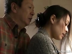 Mina Kanamori molten Asian milf is a horny housewife