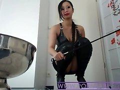 Asian Mistress PornbabeTyra hard dehumanization
