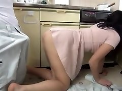 Japanese Housemaid Penetrated A Plumber