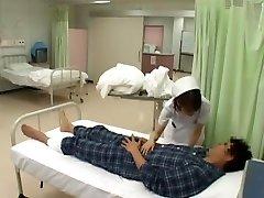 Unbelievable Japanese model Nozomi Osawa, Luna Kanzaki, Hinata Komine in Horny Nurse, Tights JAV flick