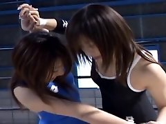 Chinese Babes Wrestling