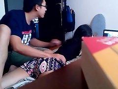 Vietnamese BOYFRIEND's covert cam for nothing