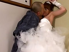 Akiho Yoshizawa in Bride Fucked by her Father in Law part Two.Two
