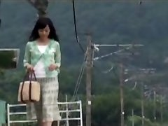 Japanese Mommy Was Surprised With Boy's In  The Travel