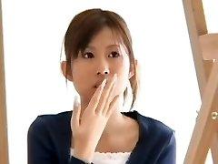 Japonski Blowjob (z presenečenje cumshot reakcija)