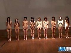 Naked Japanese nymphs