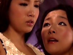 Kanos Japán lány Ayaka Tomada, Aya Asakura a Legforróbb leszbikus, 69 JAV videó