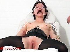 Bizarre asian medical bdsm and oriental Mei Maras extraordinary doctor fetish