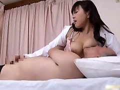 Asian doctor is horny for knob