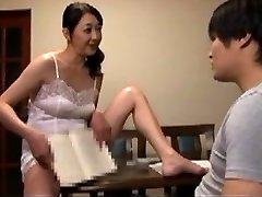 insane Japanese mother Sex Survey