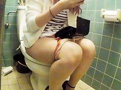 Chinese junior girl rest room pt 2