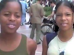 Dominican-thai schoolgirl college girls compilation