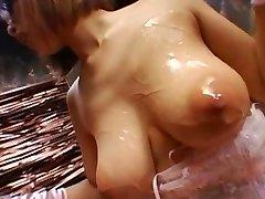 Asian girl-girl bondage Two