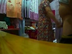 Flashing Made Japanese Granny Horry