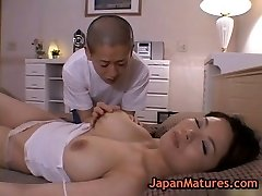 Mature bigtit miki sato jacking