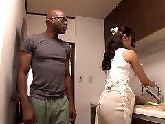 Finest Japanese slut Reiko Kobayakawa in Hottest big dick, couple JAV vignette