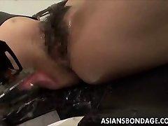Japanese honey bond and fuckd by a fucking