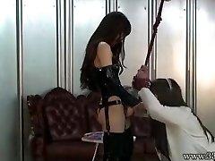 Japanese Femdom Emiru BDSM Strap On Dildo Fucking
