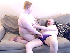 Fat couple making out, BBW, BHM, Bear Chub