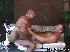 Two sexy gay dudes have great time part1