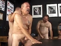 First-timer Daddy Orgy