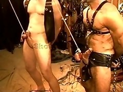 Five man sensual CBT, Bondage & Discipline orgy featuring grizzlies and otters. pt 1